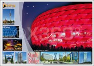 Postkarte Stadtbilder Modern