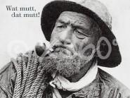 Metallmagnet Wat mutt, dat mutt!