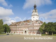 Metallmagnet Schloss Wolfenbüttel