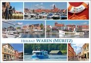 Postkarte Heilbad Waren (Müritz)
