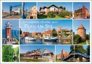 Postkarte Plau am See
