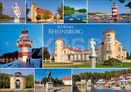 Postkarte Rheinsberg Mischkarte
