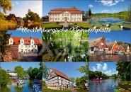 Postkarte Mecklenburgische Kleinseenplatte