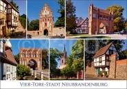 Postkarte Neubrandenburg