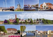 Postkarte Inselstadt Malchow