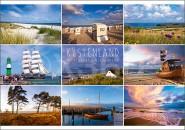 Postkarte Küstenlandschaft