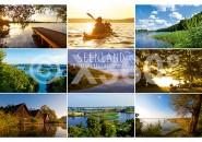 Postkarte Seenlandschaft