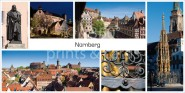 XL-Postkarte Nürnberg Impressionen