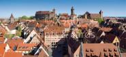 XL-Postkarte Nürnberg Burg
