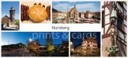 XL-Postkarte Nürnberg Impressionen 2