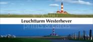 XL-Postkarte Leuchtturm Westerhever