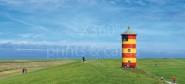 XL-Postkarte Pilsum Leuchtturm