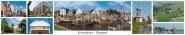Panoramapostkarte Greetsiel Krummhörn