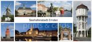 XL-Postkarte Emden Impressionen