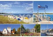 Postkarte Mischkarte Boltenhagen
