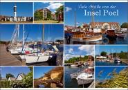 Postkarte Insel Poel