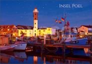 Postkarte Insel Poel Abend