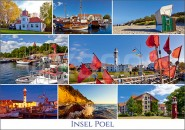 Postkarte Insel Poel Mischkarte