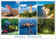 Postkarte Insel Rügen