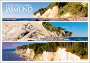 Postkarte Nationalpark Jasmund