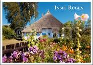 Postkarte Insel Rügen Haus