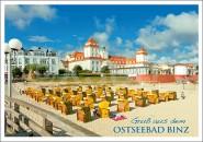 Postkarte Grüße aus dem Ostseebad Binz