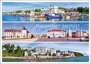 Postkarte Hafenstadt Sassnitz