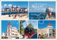 Postkarte Ostseebad Sellin