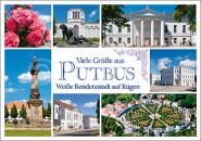 Postkarte Viele Grüße aus Putbus