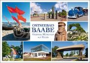 Postkarte Ostseebad Baabe