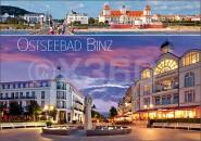 Postkarte Ostseebad Binz