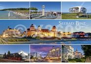 Postkarte Seebad Binz