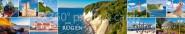 Panoramapostkarte Insel Rügen