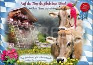 Postkarte Auf der Alm