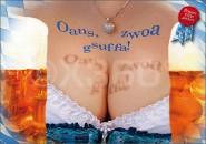 Postkarte Oanz zwoa gsuffa