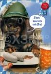 Postkarte I red boarisch