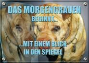 Postkarte Das Morgengrauen beginnt...