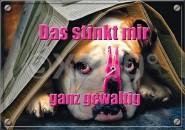 Postkarte Das stinkt mir ganz gewaltig