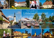 Postkarte Lübbenau / Spreewald