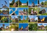 Postkarte Kulturlandschaft Spreewald