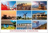 Postkarte Ostseeinsel Usedom
