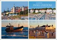 Postkarte Schöne Insel Usedom