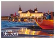 Postkarte Insel Usedom Seebrücke