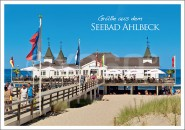 Postkarte Seebad Ahlbeck
