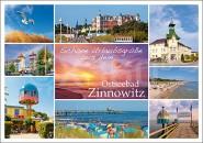 Postkarte Ostseebad Zinnowitz