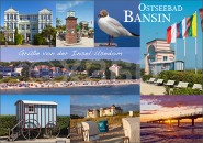 Postkarte Grüße aus Bansin