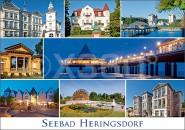 Postkarte Seebad Heringsdorf