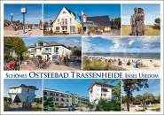 Postkarte Ostseebad Trassenheide