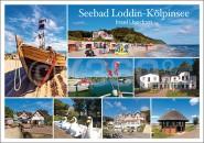 Postkarte Seebad Loddin-Kölpinsee