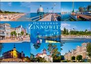 Postkarte Mischkarte Zinnowitz